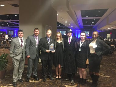 Rio AMA Chapter Wins at International Conference